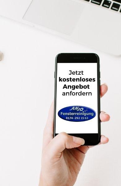 kostenloses Angebot Fensterreinigung Hamburg